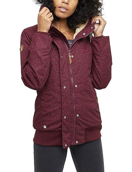 mazine Damen Jacke Chelsey Farbe: Black Olive Größe: XL