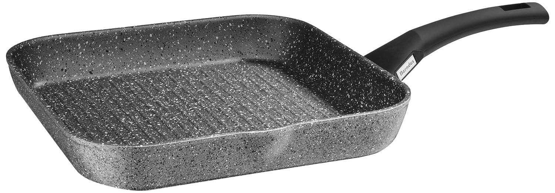 Berndes 21273 - Sartén de grill, acero inoxidable, aluminio y acero de 28 cm: Amazon.es: Hogar