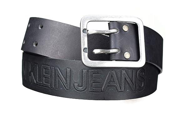 Calvin Klein - Ceinture K50k504165 001 Noir - Couleur Noir - Taille 95   Amazon.fr  Vêtements et accessoires 611497016f5