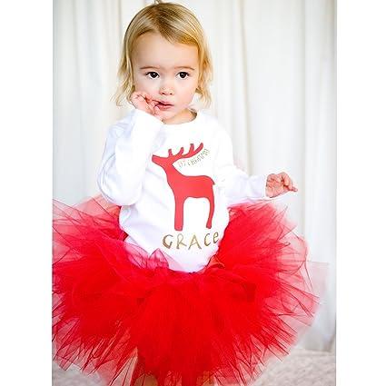 Personalizable con diseño de reno Navidad muñeco de nieve en reno chaqueta de señora en blanco