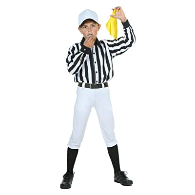 Fun Costumes Child Referee Boys Costume: Clothing