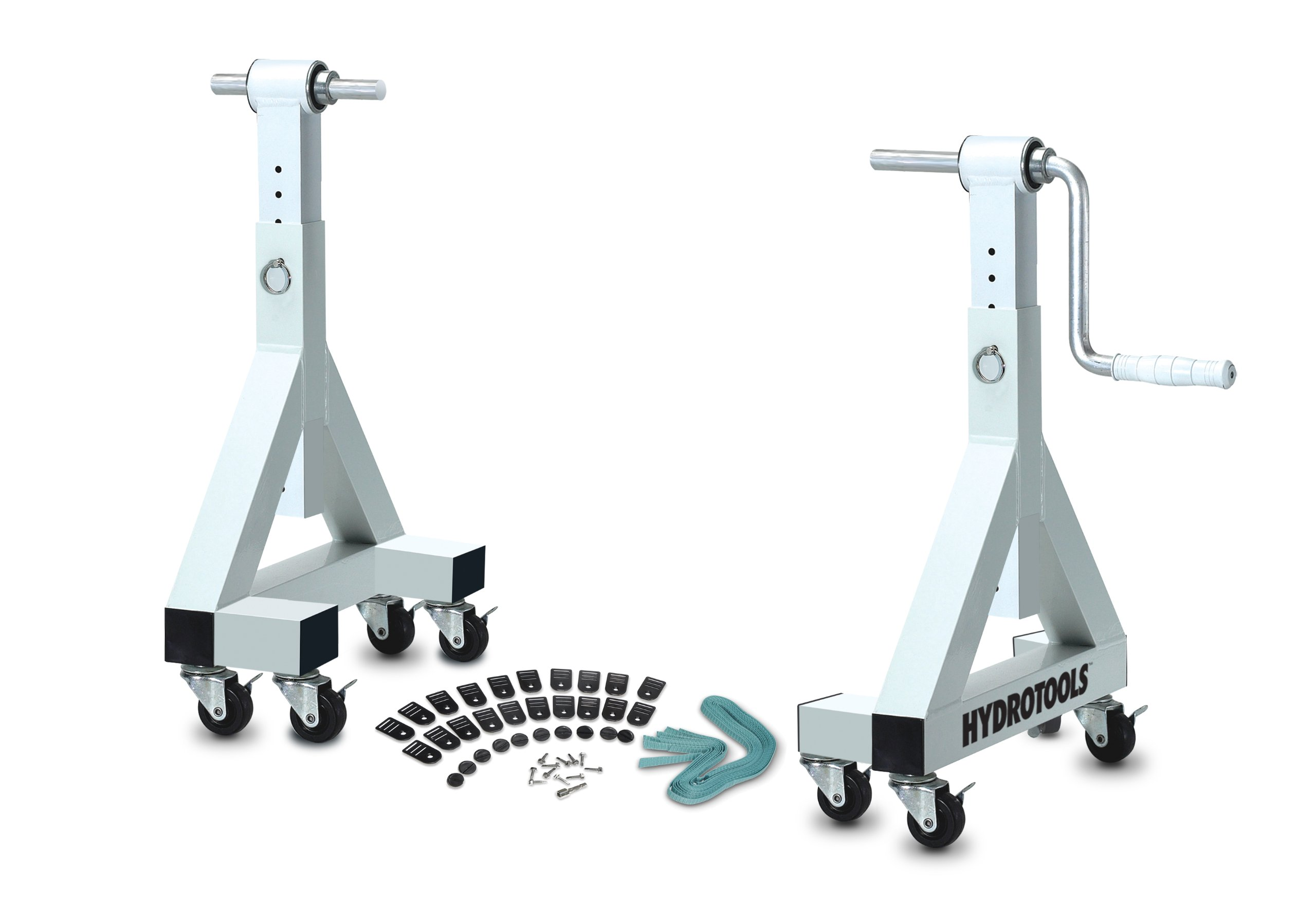 HydroTools by Swimline Commercial Quality In-Ground Pool Solar Reel System with Adjustable Height