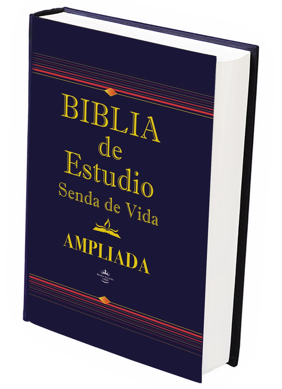 Biblia de Estudio Ampliada Tapa Dura con Indice: Senda de Vida Publishers:  9781622152117: Amazon.com: Books
