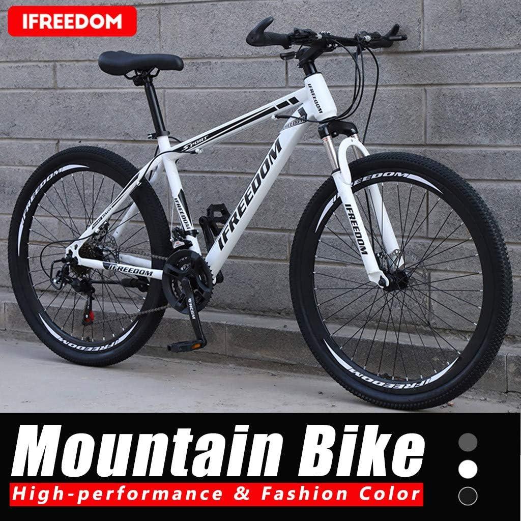 ReooLy 26 Pulgadas Bicicleta de montaña de 21 velocidades Bicicleta Estudiante Adulto al Aire Libre: Amazon.es: Ropa y accesorios