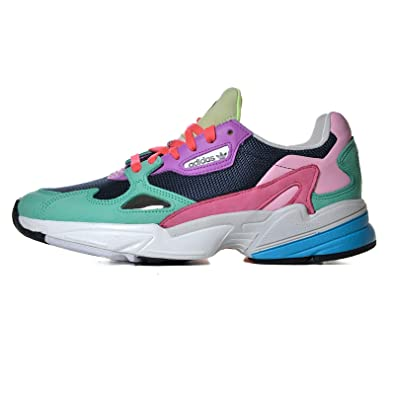 adidas Falcon Women's Sneakers Shoes in Multicolored Fabric ...
