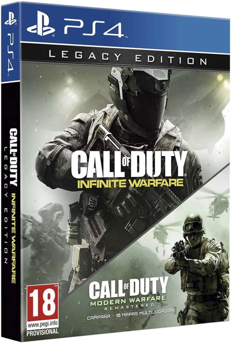 Call Of Duty: Infinite Warfare - Legacy Edition: Amazon.es ...