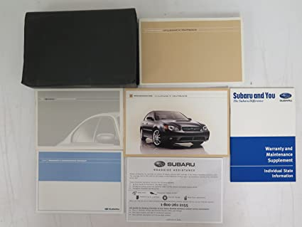 2007 subaru legacy outback owners manual user guide manual that amazon com 2007 subaru legacy outback owners manual subaru car rh amazon com 2007 subaru outback fandeluxe Gallery