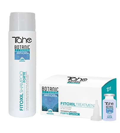 TAHE BOTANIC TRICOLOGY FITOXIL FORTE CLASSIC PROGRAM SHAMPOO 300ml + TREATMENT 5X10ml