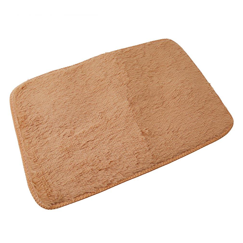 Yesiidor Home Tapis Fluffy Shaggy Zone Tapis Yoga Tapis Maison Chambre /à coucher Tapis de salle /à manger de sol As description #2