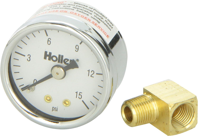 Holley 26-500 Mechanical Fuel Pressure Gauge
