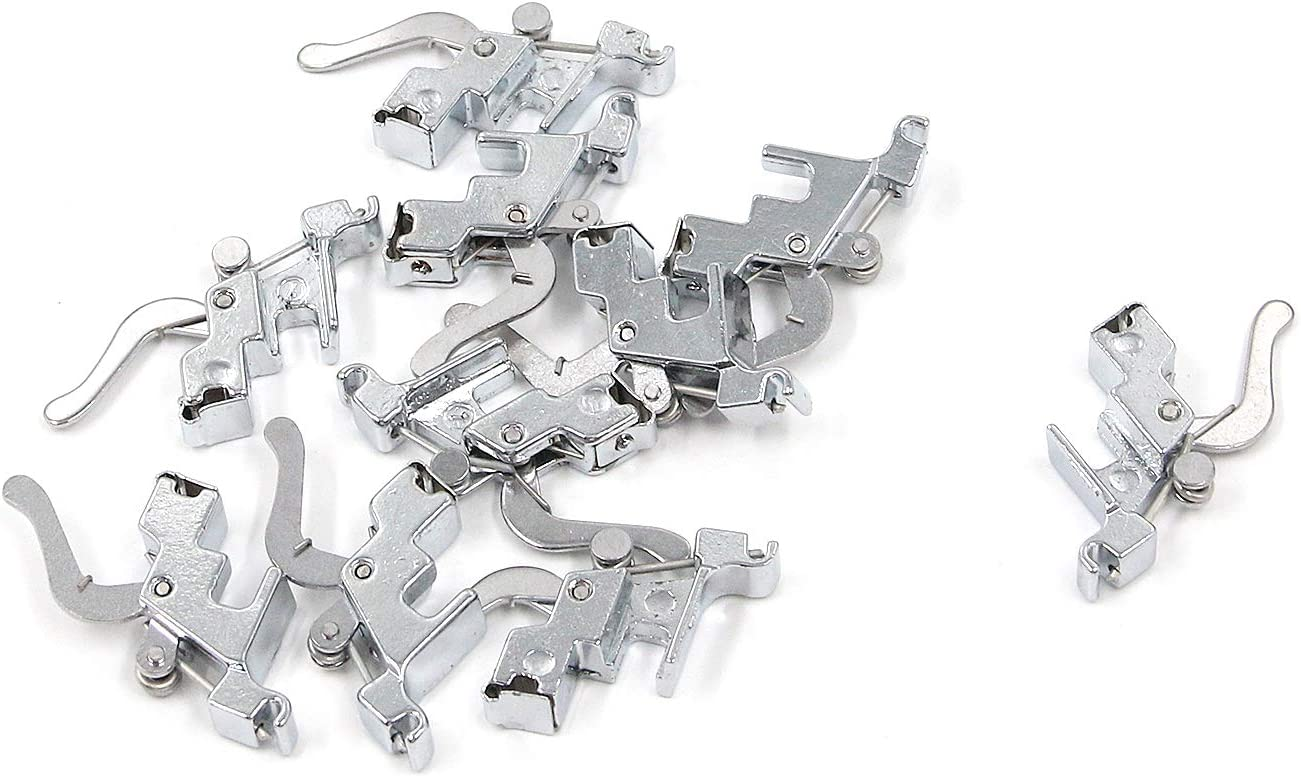 MTMTOOL Snap On Shank Low Shank Adapter Presser Foot Holder Domestic Sewing Foot Presser Foot Holder for Singer,Brother,Janome,Kenmore,Babylock,Toyota,Elna Pack of 10