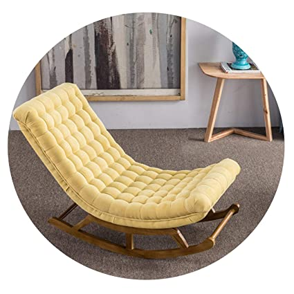 Miraculous Amazon Com Modern Design Rocking Chair Fabric Upholstery Cjindustries Chair Design For Home Cjindustriesco