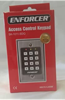 Amazon.com : IEI 212i Indoor Flush-mount Keypad : Access ... on alarm lock keypad wiring, dsc keypad wiring, iei security keypads for doors, linear keypad wiring, iei keypads 212i manual,
