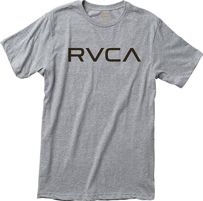 RVCA Camiseta grande para hombre - Gris - Medium: Amazon.es: Ropa y accesorios