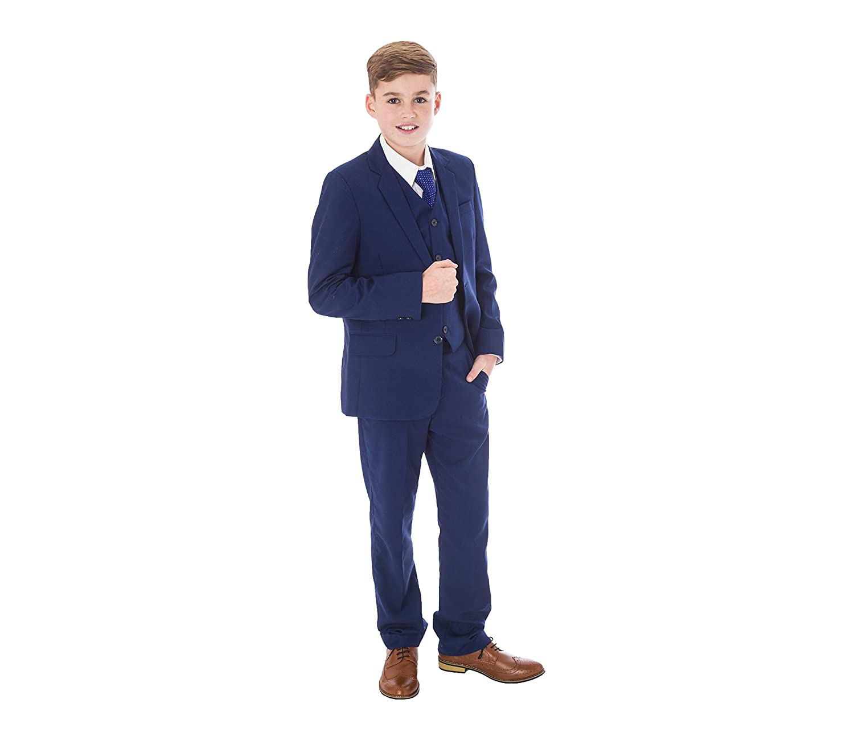 Vivaki Jungen Anzug blau blau