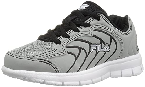 f6daba0b09e2 Image Unavailable. Image not available for. Colour  Fila Boys  Star Runner  Skate Shoe ...