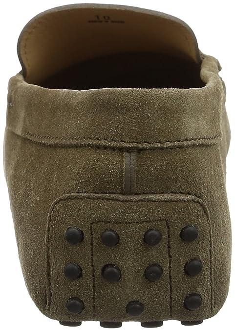 Tods Gommino Mocassino Suede, Mocasines para Hombre, Gris (Ardesia Medio V822), 41 EU: Amazon.es: Zapatos y complementos