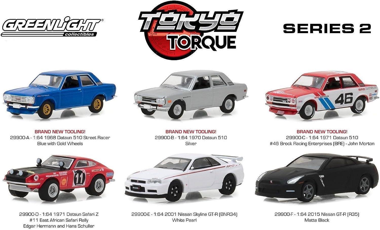 1:64 Wheel /& Tyre Set Greenlight Tokyo Torque Series 1