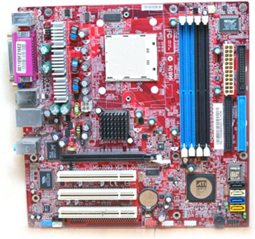 Gateway eMachines MS-7093 RS482M2 103171 Motherboard