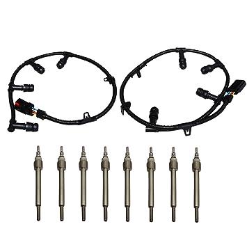 6.0L Ford Powerstroke Diesel Glow Plug Harness Set fits 2004-2010 Left Right