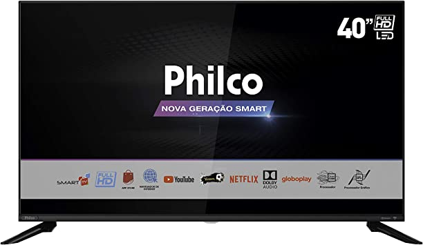 "Tv 40"" Led Philco Full Hd Smart - Ptv40g60snbl"