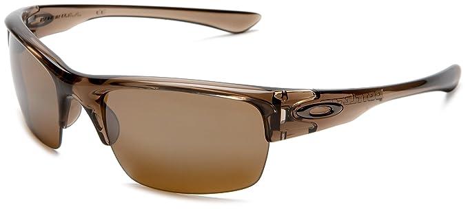 eb98ace83dbd Oakley Men's Bottlecap XL Iridium Polarized Sunglasses,Brown Smoke  Frame/Tungsten Lens,one