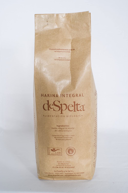DeSpelta Harina integral de Espelta Ecológica 1kg