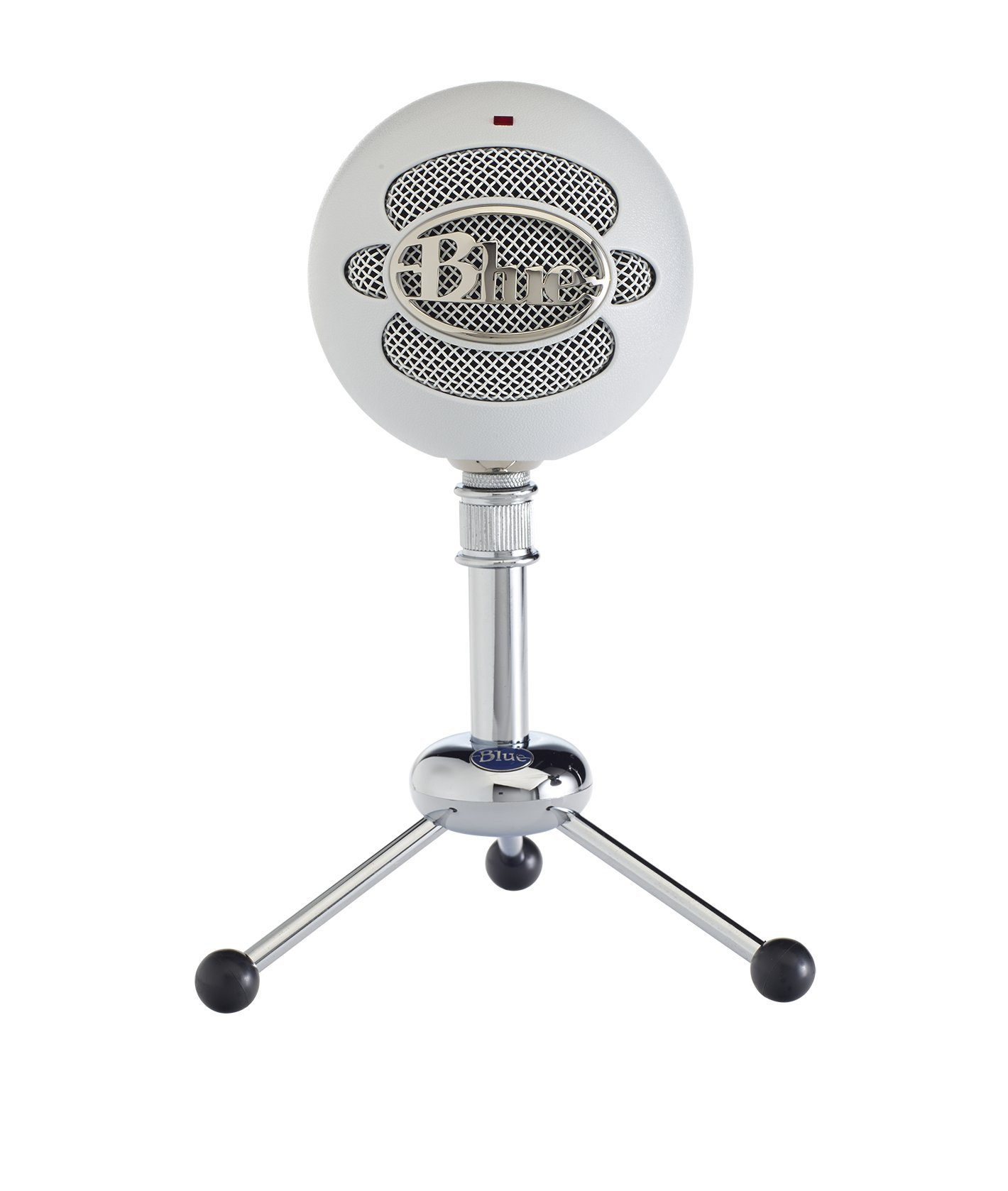 Blue Snowball USB Microphone (Textured White) by Blue Microphones
