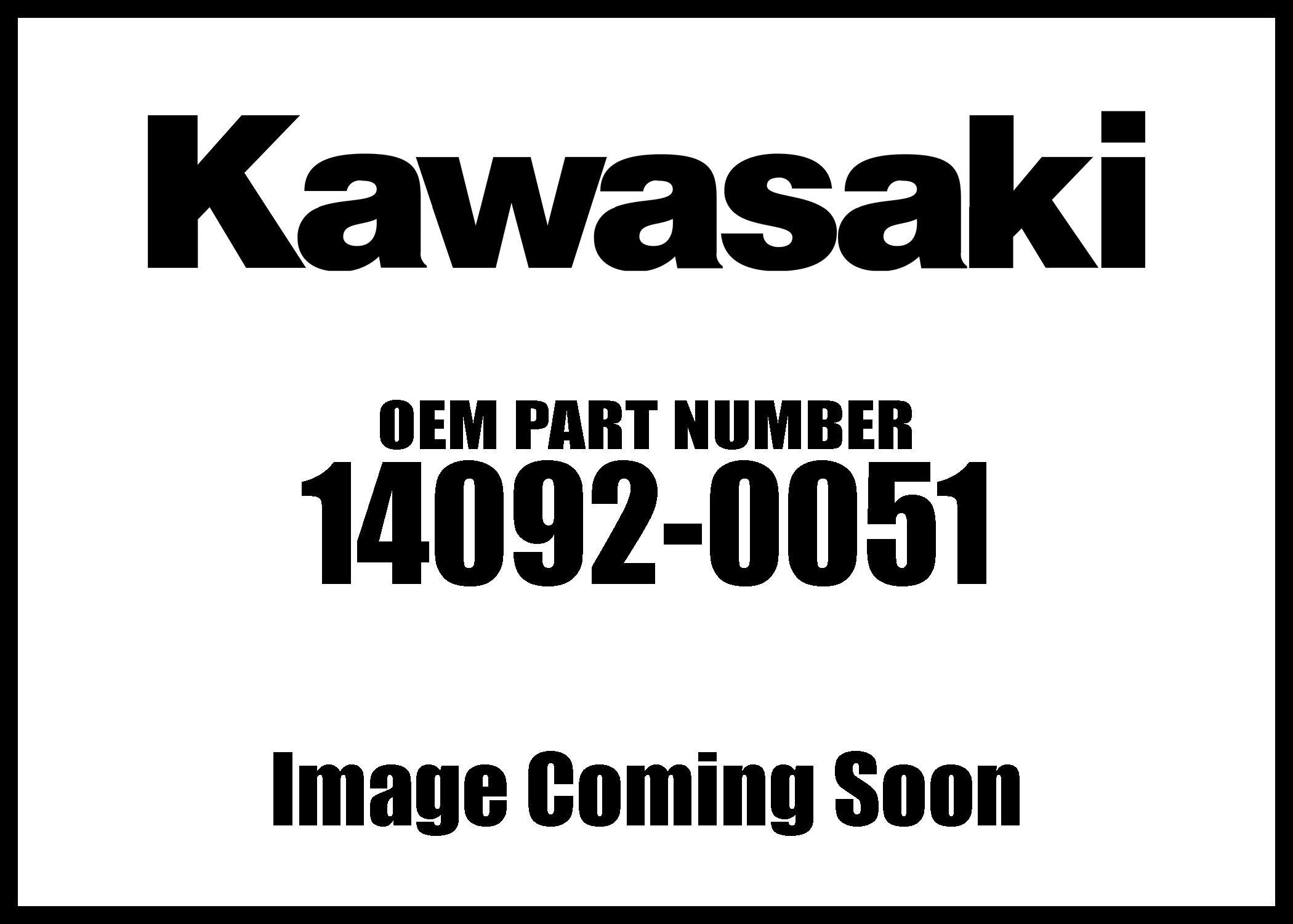 Kawasaki 2009-2012 Teryx 750 Fi 4X4 Teryx 750 Fi 4X4 Sport Heat Cover 14092-0051 New Oem