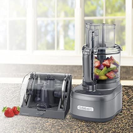 Gentil Cuisinart Elemental 11 Cup Food Processor With Accessory Storage Case