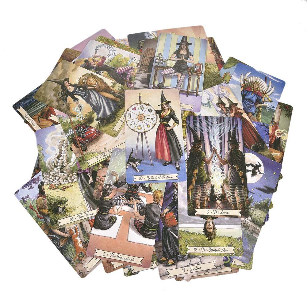 Englische Ausgabe Urben Life Tarot Karte 78 Stck Everyday Witch Tarot Brettspiel Tarotkarten Mini Tarot Deck