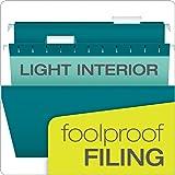 Pendaflex Reinforced Hanging File Folders, Letter