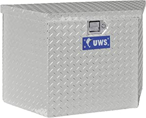 UWS EC20391 34-Inch Heavy-Wall Aluminum Trailer Tongue Tool Box, RigidCore Lid
