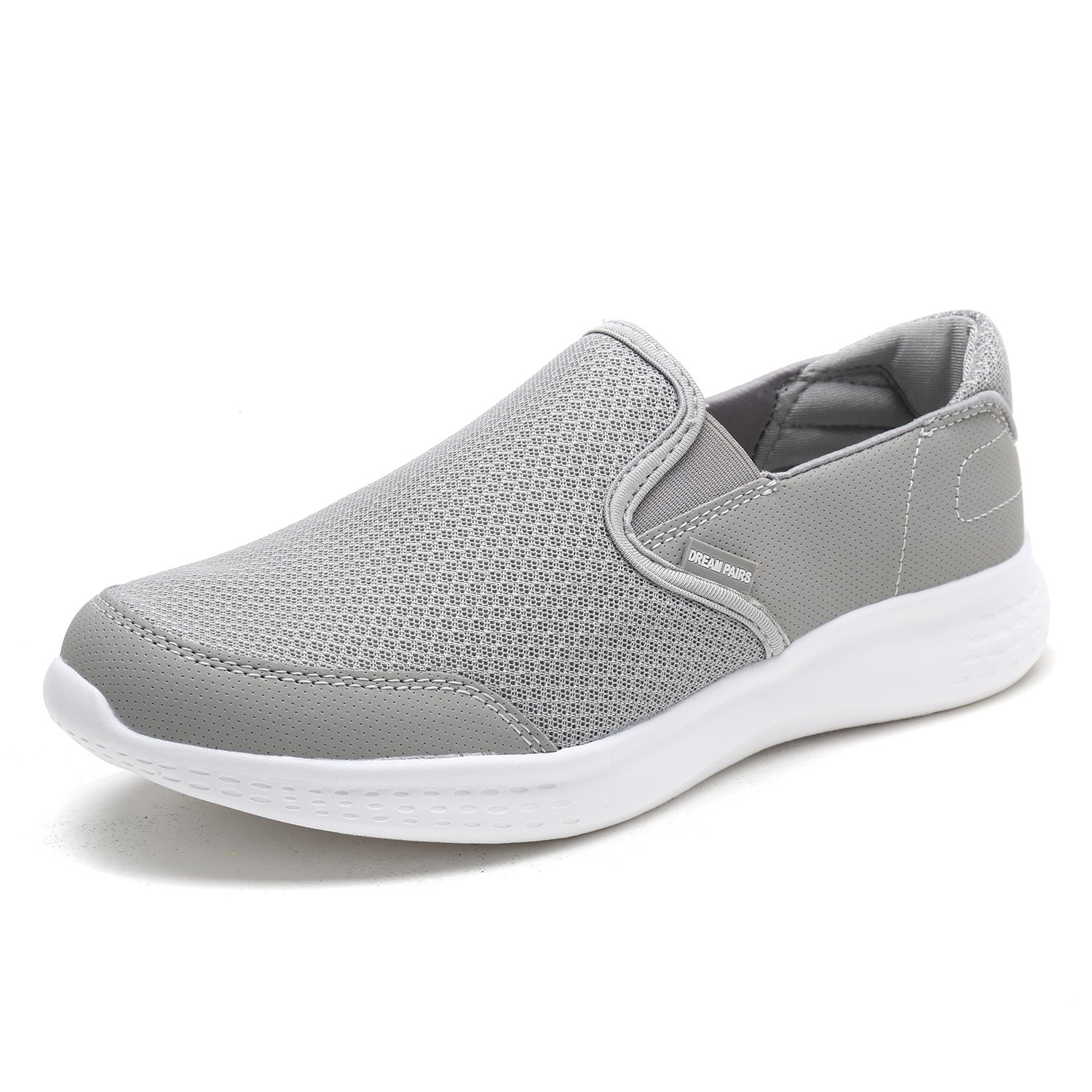 DREAM PAIRS Men's 150908 New Grey Fashion Running Shoes Sneakers Size 10 M US