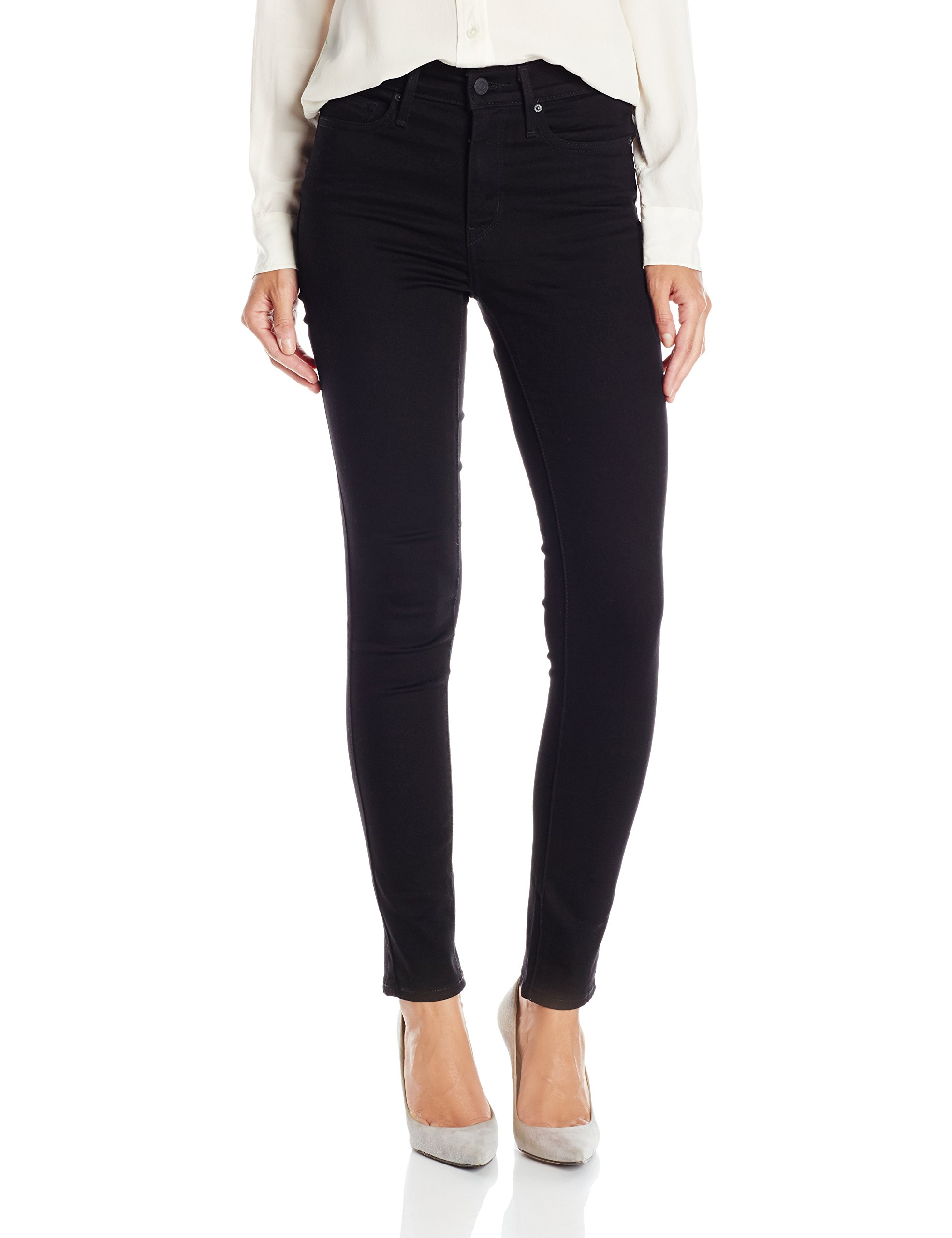 Levi's Women's Slimming Skinny Jean, Blackened Ash (65% Cotton, 17% Polyester, 16% Viscose, 2% Elastane), 29Wx30L