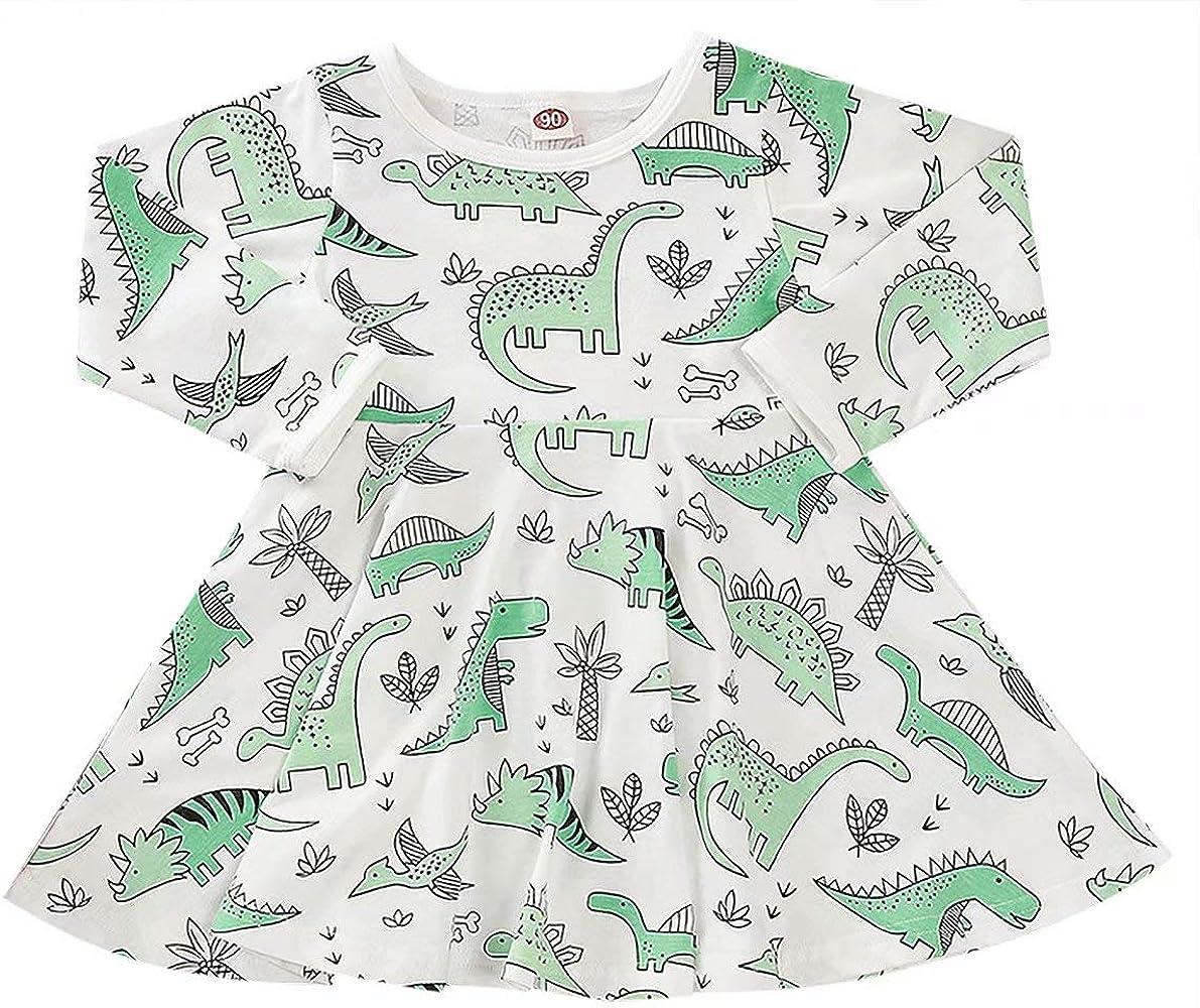 Amazon.com: JEALLY vestido de fiesta de dinosaurio para niña ...