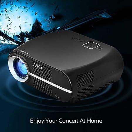 Vivibright vídeo proyector, LCD 1080P Full HD Nivel Calidad de ...