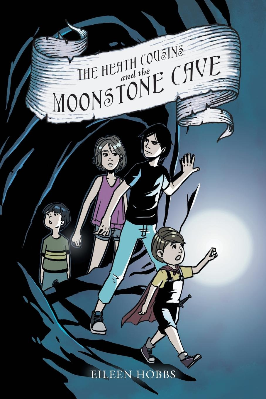 The Heath Cousins and the Moonstone Cave PDF