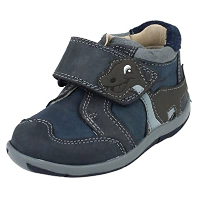 037b1707e2a1 Infant Boys Clarks First Walking Boots Diplotime  Amazon.co.uk ...