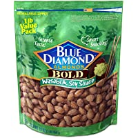 Deals on Blue Diamond Almonds, Bold Wasabi & Soy Sauce 16oz
