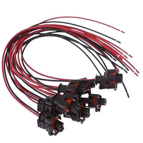 71d7RzhagpL._SX466_ amazon com fuel injector connector harness plug for 6 6l duramax
