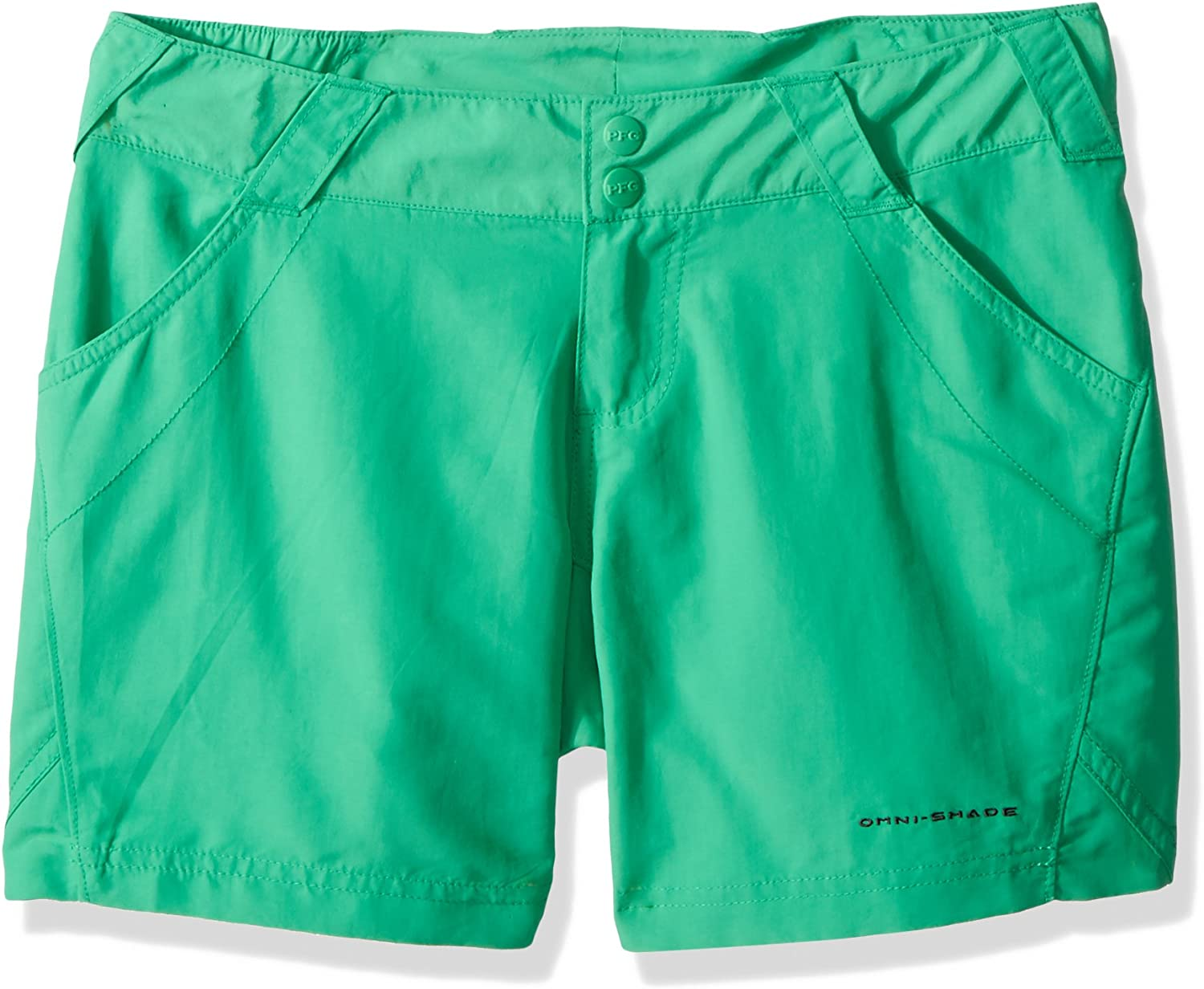 Columbia Womens Coral Point II Short UV Sun Protection Moisture Wicking Fabric