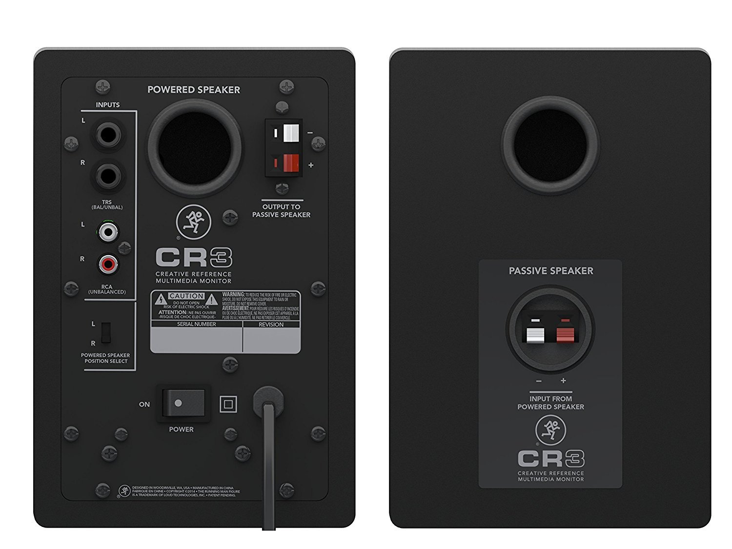 Mackie CR3 3'' Creative Reference Multimedia Monitors Bundle with Mackie Onyx Artist 1-2 USB Audio Interface and Tascam TH-02 Closed Back Studio Headphones by Circuit City (Image #4)