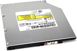 Aquamoon Trading New Genuine OEM Dell DVD/CD Rewritable Drive DVDRW 8x SATA SLIM 9.5 Tray 9.5mm Writer Burner GU90N 9M9FK CTT98 SU-208 FC5GR