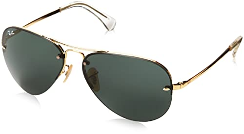 6fc801bcfd Ray-Ban Aviator Sunglasses (Gold) (0RB3449)  Ray-Ban  Amazon.in ...