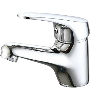 DP Grifería GSP001 Grifo de lavabo serie Limonero Plateado