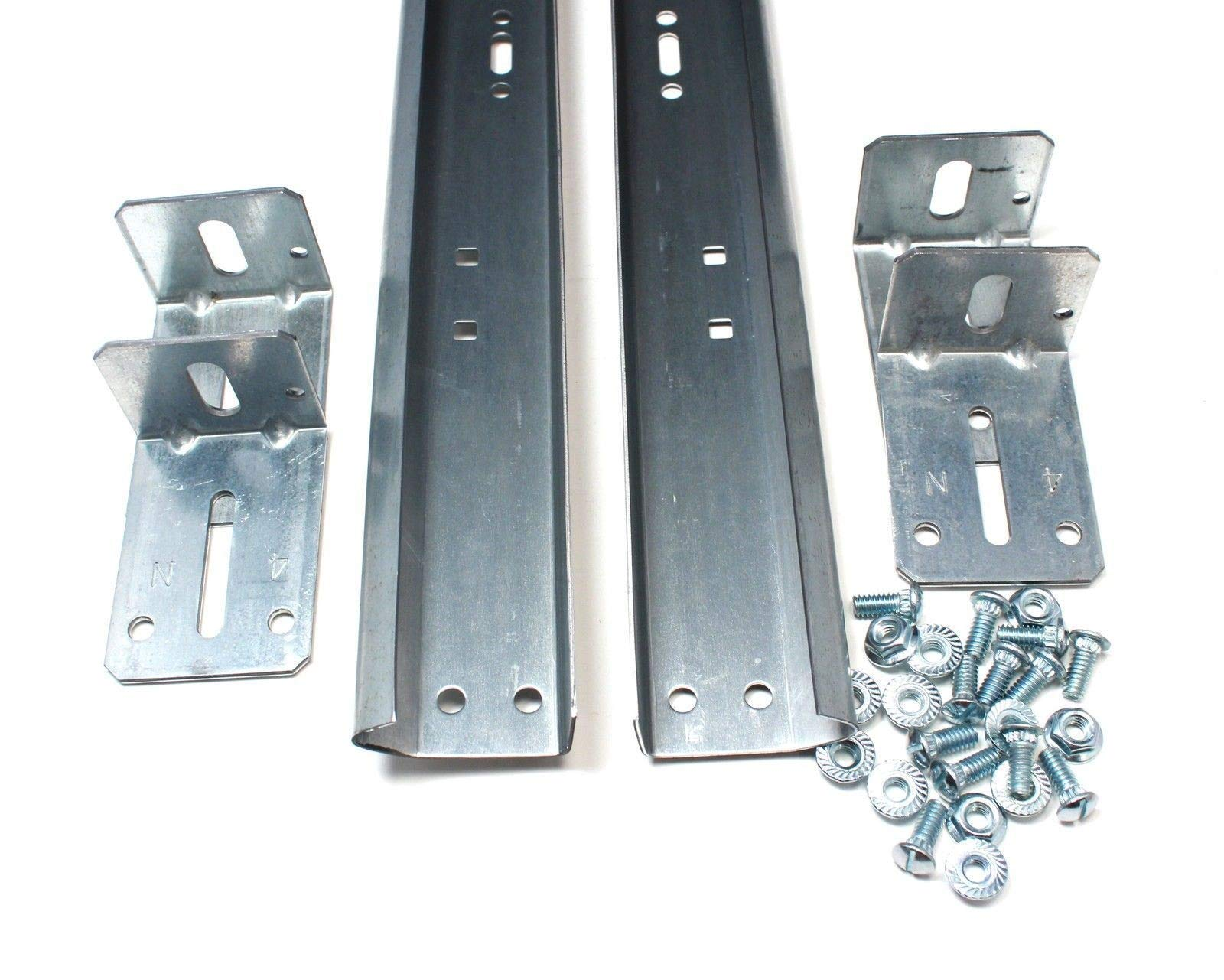 Garage Door Track for 7' High Door - Pair of Vertical Sections Length: 76'' Standart Lenght