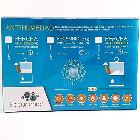 Percha Antihumedad Armarios Bolsa 400gr para CLASSIC Habitación Ropa Evita Olor Humedades Antimoho: Amazon.es: Hogar