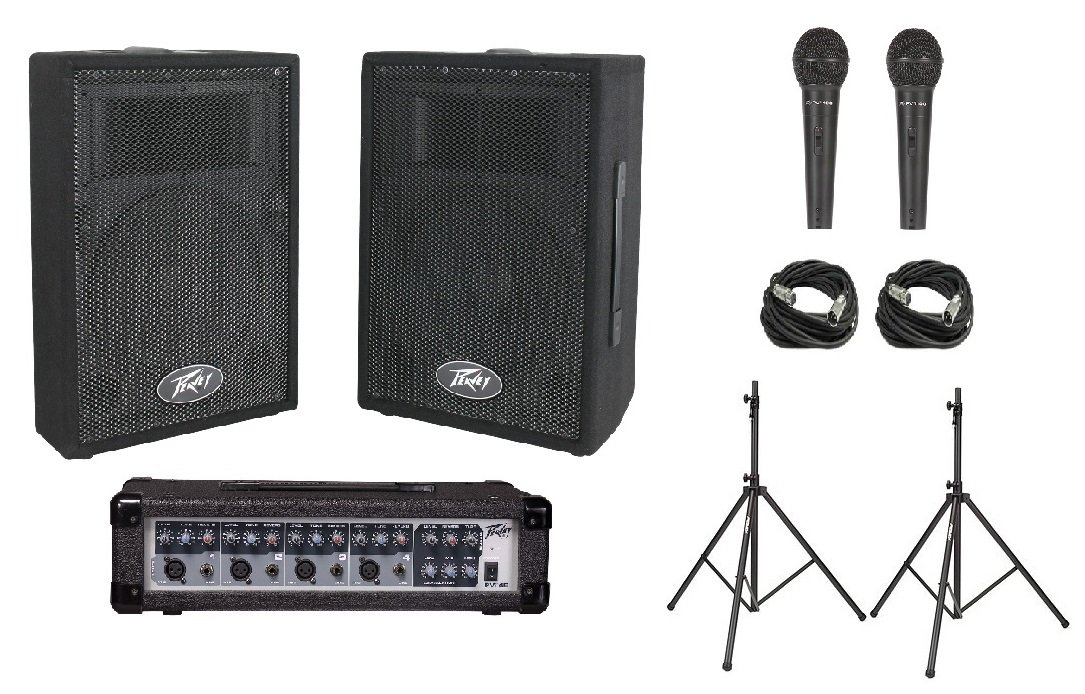 Peavey Audio Performer Pack PA System included equipment