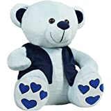 Ultra Teddy Bear with Jacket Soft Toys (Blue_12 inch)
